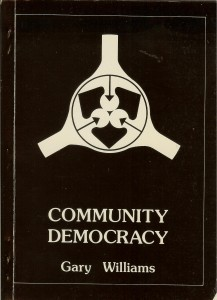 "Cover of ""Community Democracy"""